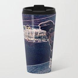 Min Pin on a boat Travel Mug
