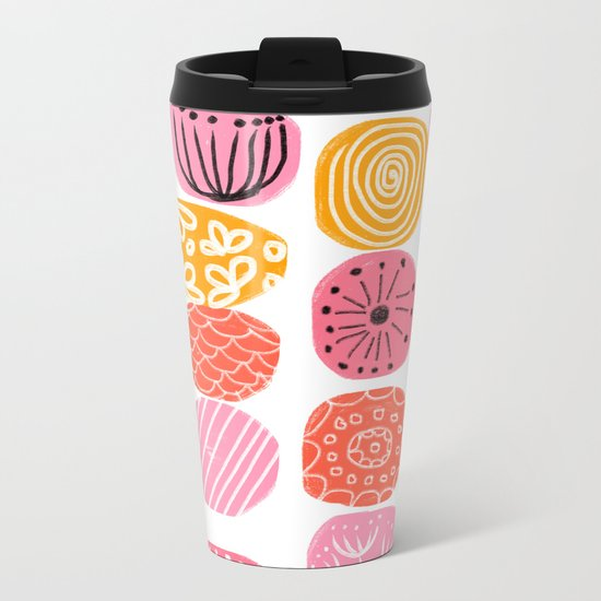 summer garden stories Metal Travel Mug