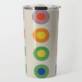 Chevreul Laws of Contrast of Colour, Plate VI, 1860, Remake, vintage wash Travel Mug