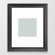 #495 Garden – Geometry Daily Framed Art Print