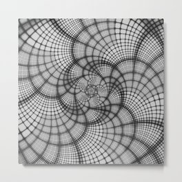 Hyperlane Lattice Metal Print