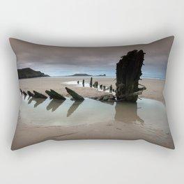 Wreck of Helvetia Rectangular Pillow