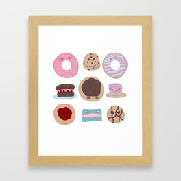 Evil Desserts Framed Art Print