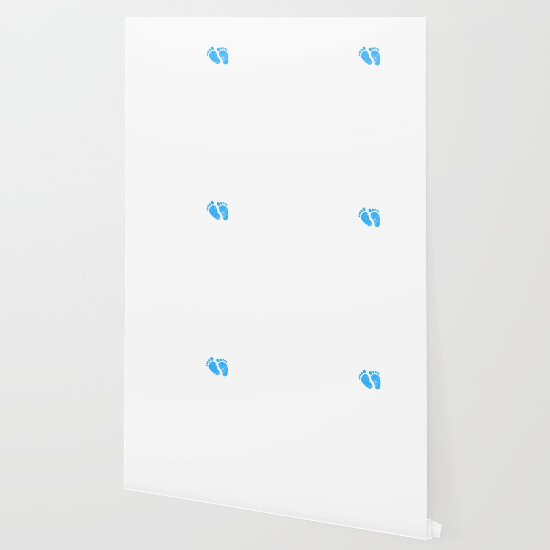 Mens New Dad 2018 Mens Vintage Design Its A Boy Footprints Wallpaper