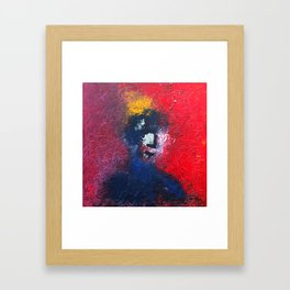 Man with no title Framed Art Print