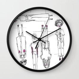 Topsy Turvey Wall Clock