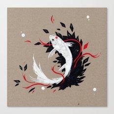 KOI RIBBON Canvas Print