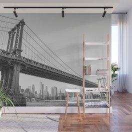 Manhattan Over Manhattan Wall Mural