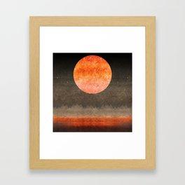 """""""Sabana night light moon & stars"""" Framed Art Print"""