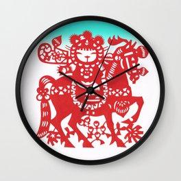 Rice Paper Prince Wall Clock