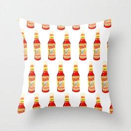 Cthulhu Hot Sauce Throw Pillow