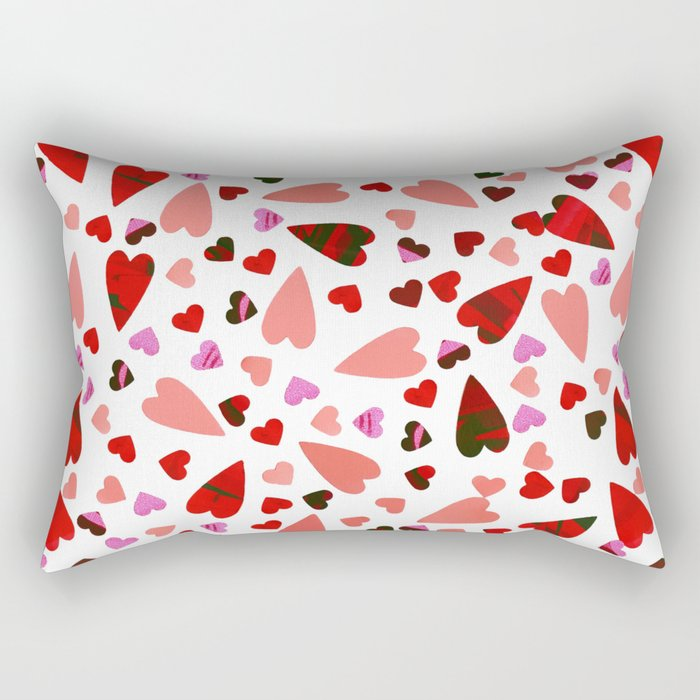 Scatter my (LOVE) Heart Rectangular Pillow
