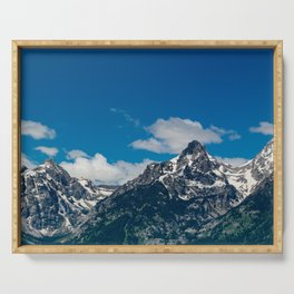 Grand Tetons Panorama Serving Tray