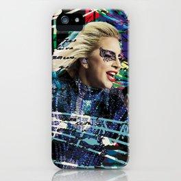 Lady G iPhone Case