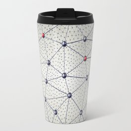 Cryptocurrency network Travel Mug
