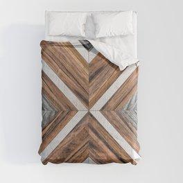 Urban Tribal Pattern No.4 - Wood Comforters