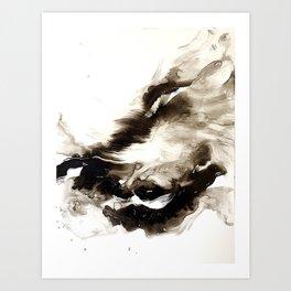 Black + White 2 Art Print