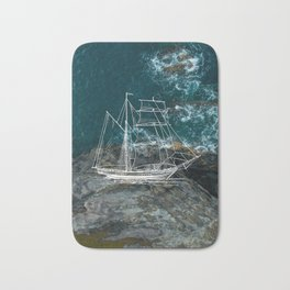 Shipwreck - Maui Bath Mat