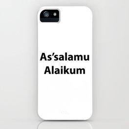 As'salamu Alaikum iPhone Case