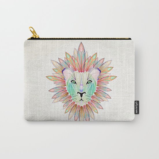lion colorful Carry-All Pouch