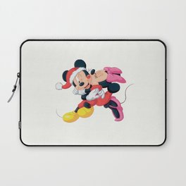 Cute Mickey and Minnie Laptop Sleeve