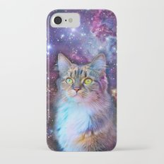Proud Cat With Space Background                                                                   Slim Case iPhone 7