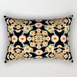 Pastel Carousel Filigree Rectangular Pillow