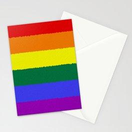 Pride Flag Stationery Cards