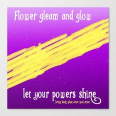 GLEAM & GLOW Canvas Print