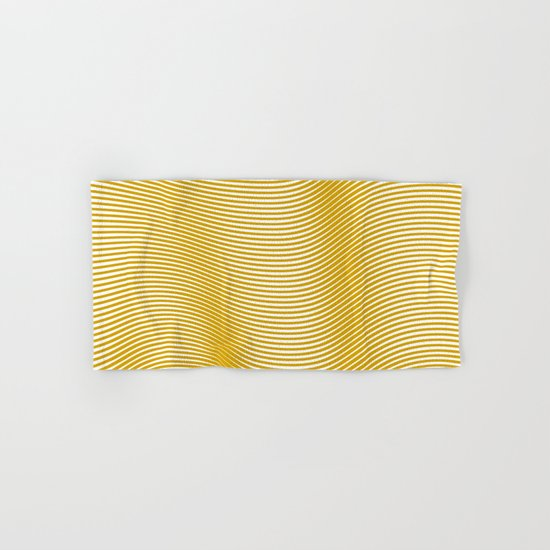 Golden Waves Hand & Bath Towel