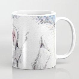 Sweet cat Pincel sleeping Coffee Mug