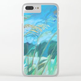 Witnessing Beauty 4 Clear iPhone Case
