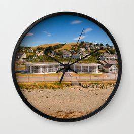 Seafront Cafe Wall Clock