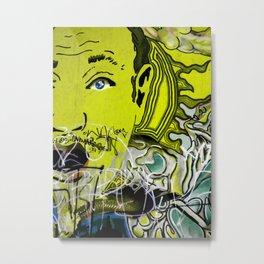 Feeling Yellow Metal Print