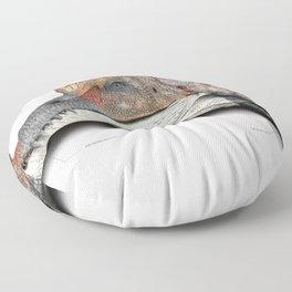 Spinosaurus art Floor Pillow