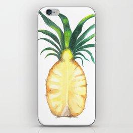 Pineapple Crown iPhone Skin