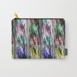 Patchwork color gradient and texture 3 Carry-All Pouch
