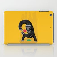 king iPad Cases featuring King Kong Ping Pong by Wharton