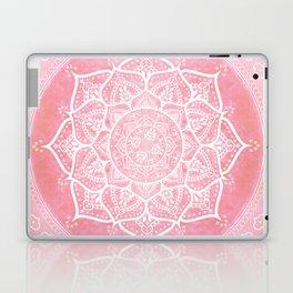 Bohemian Blush Pink & Teal Mandala Laptop & iPad Skin