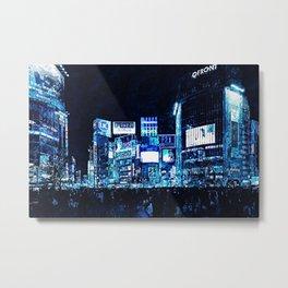 Tokyo Nights Metal Print
