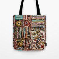 africa Tote Bags featuring Africa by Helene Michau