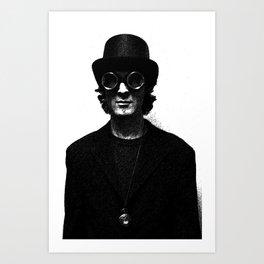 Profile Projection35 Art Print