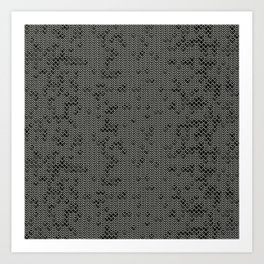 Chain Mail Texture Art Print