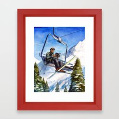 Alpine Paperback Framed Art Print