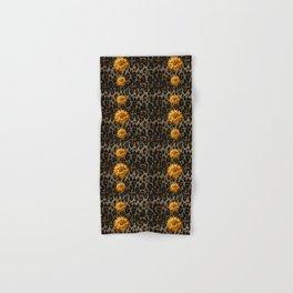 Animal Print Cheetah Triple Gold Hand & Bath Towel