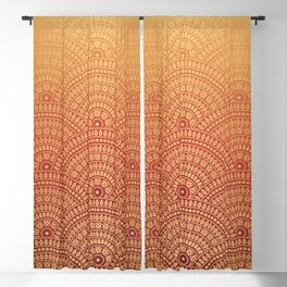 Sunset Mandala Blackout Curtain