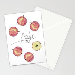 Apple mood Stationery Cards