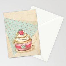 my Vintage Cupcake Stationery Cards