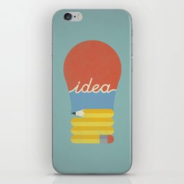 I've Got An Idea iPhone Skin