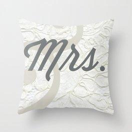 Mrs. Throw Pillow